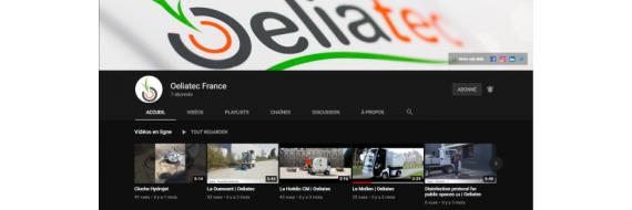 Visitez notre chaîne YouTube
